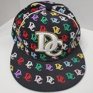 Triple Timber DC Washington SpellOut Logo Hats